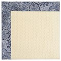 Capel Rugs Creative Concepts Sugar Mountain - Paddock Shawl Indigo (475) Octagon 10