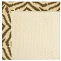 Capel Rugs Creative Concepts Sugar Mountain - Couture King Chestnut (756) Octagon 10