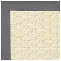 Capel Rugs Creative Concepts Sugar Mountain - Canvas Charcoal (355) Runner 2