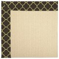 Capel Rugs Creative Concepts Beach Sisal - Canvas Antique Beige (717) Octagon 6