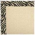 Capel Rugs Creative Concepts Beach Sisal - Wild Thing Onyx (396) Octagon 8