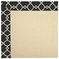 Capel Rugs Creative Concepts Beach Sisal - Arden Black (346) Rectangle 9