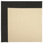Capel Rugs Creative Concepts Beach Sisal - Canvas Black (314) Rectangle 12' x 15' Area Rug