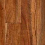 "LW Mountain Pre-Finished Asian Walnut Acacia: Turmeric 3/4"" x 3"" Solid Hardwood LWS5TUR"