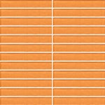 "Daltile Color Wave Glass Mosaic 1"" x 1"" : Russet Orange CW2911MS1P"