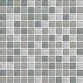 "Daltile Color Wave Glass Mosaic 1"" x 1"" : Willow Waters CW2111MS1P"