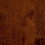 "Bruce by Armstrong Turlington Signature Series: Glazed Rust Red 3/8"" x 3"" Engineered Oak Hardwood E5317"