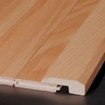 "Armstrong Locking Hardwood Ash Plank:  Threshold Bronze - 78""  Long"