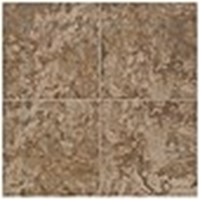 "Mohawk Pavin Stone: Brown Suede 10"" x 14"" Ceramic Tile 13826"