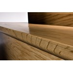 "Kahrs Bayside Collection: Flush Stair Nose Oak Chesapeake - 78"" Long"