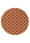 Shaw Living Inspired Design Chateau Garden (Brown) Rectangle 2'2