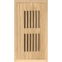 White Oak 4x10 Flush Mount Vent (no damper)