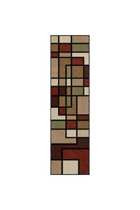 Shaw Living Nexus Glass Block (Lichen) Rectangle 3'6