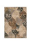Shaw Living Kathy Ireland Home Gallery Italian Garden (Beige) Rectangle 5'5