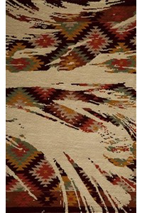 Shaw Living Accents Roosevelt (Garnet) Rectangle 3'11