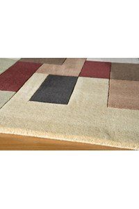 Shaw Living Renaissance Sienna (Dark Brown) Rectangle 5'5