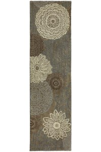Shaw Living Timber Creek By Phillip Crowe Whispering Woods (Beige) Runner 2'6