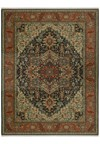 Nourison Collection Library Chambord (CM01-BRN) Rectangle 5'6