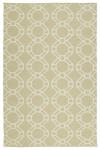 Nourison Collection Library Country Heritage (H301-YEL) Rectangle 5'3