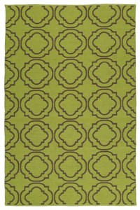 Nourison Collection Library Country Heritage (H564-YEL) Rectangle 5'3