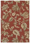 Nourison Collection Library Hamilton House (HH03-BUR) Runner 2'3