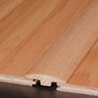 "Bruce Hardwood Flooring by Armstrong Manchester Oak:  T-Mold Saddle 78"" Long"