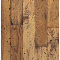 "Bruce American Originals Hickory: Antique Natural 3/8"" x 5"" Engineered Hickory Hardwood ER5110Z"