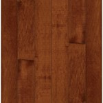 "Bruce Kennedale Prestige Plank Maple: Cherry 3/4"" x 4"" Solid Maple Hardwood CM4728Y"