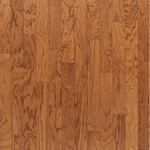 "Bruce Turlington Lock&Fold Oak: Butterscotch 3/8"" x 3"" Engineered Oak Hardwood EAK06LG"