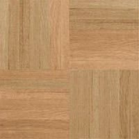 "Armstrong Urethane Parquet Oak: Unfinished 5/16"" x 12"" Solid Oak Hardwood 111190"