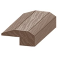 "Columbia Chase Hickory: Threshold Rustic Hickory - 84"" Long"