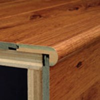 "Armstrong Premium: Flush Stair Nose Midnight Maple - 94"" Long"