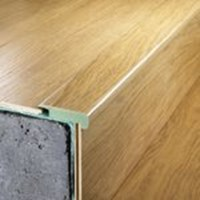 "Quick-Step Classic: Overlap Stair Nose Terra Alder - 94.5"" Long"