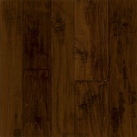 "Armstrong Artesian Hand-Tooled: Black 1/2"" x 4"", 5"" & 6"" Random Width Engineered Walnut Hardwood EMW6322Z"