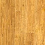 "LW Mountain Bamboo:  Strand Woven Natural 9/16"" x 3 3/4"" x 72"" Solid Bamboo LWS61S6.1"