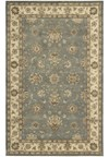 Capel Rugs Creative Concepts Cane Wicker - Tuscan Stripe Adobe (825) Octagon 4' x 4' Area Rug