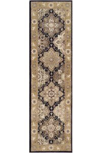 Capel Rugs Creative Concepts Cane Wicker - Canvas Brass (180) Octagon 6' x 6' Area Rug