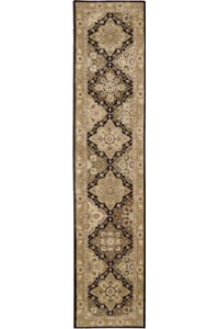 Capel Rugs Creative Concepts Cane Wicker - Cayo Vista Tea Leaf (210) Octagon 6' x 6' Area Rug