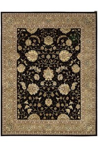 Capel Rugs Creative Concepts Cane Wicker - Granite Stripe (335) Octagon 6' x 6' Area Rug