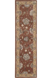 Capel Rugs Creative Concepts Cane Wicker - Brannon Whisper (422) Octagon 6' x 6' Area Rug