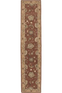Capel Rugs Creative Concepts Cane Wicker - Cayo Vista Ocean (425) Octagon 6' x 6' Area Rug