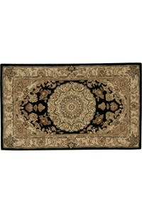 Capel Rugs Creative Concepts Cane Wicker - Canvas Navy (497) Octagon 6' x 6' Area Rug