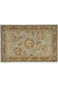 Capel Rugs Creative Concepts Cane Wicker - Java Journey Henna (580) Octagon 6' x 6' Area Rug