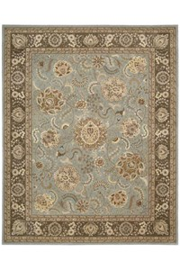 Capel Rugs Creative Concepts Cane Wicker - Canvas Taupe (737) Octagon 6' x 6' Area Rug