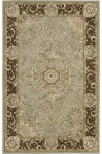 Capel Rugs Creative Concepts Cane Wicker - Java Journey Chestnut (750) Octagon 6' x 6' Area Rug