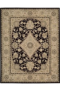 Capel Rugs Creative Concepts Cane Wicker - Canvas Persimmon (847) Octagon 6' x 6' Area Rug