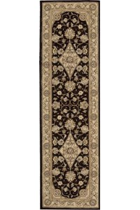 Capel Rugs Creative Concepts Cane Wicker - Bamboo Cinnamon (856) Octagon 6' x 6' Area Rug