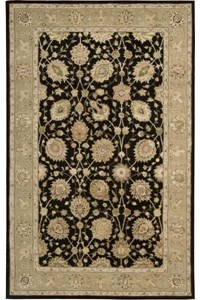 Capel Rugs Creative Concepts Cane Wicker - Down The Lane Ebony (370) Runner 2' 6