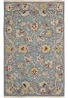 Capel Rugs Creative Concepts Cane Wicker - Batik Indigo (415) Runner 2' 6
