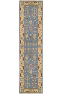 Capel Rugs Creative Concepts Cane Wicker - Canvas Buttercup (127) Runner 2' 6